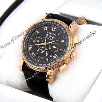 Часы ZENITH Коллекция Elite Официальный сайт Mercury